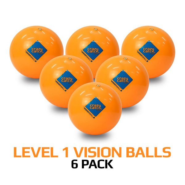 Level 1 Vision Ball 6 Pack