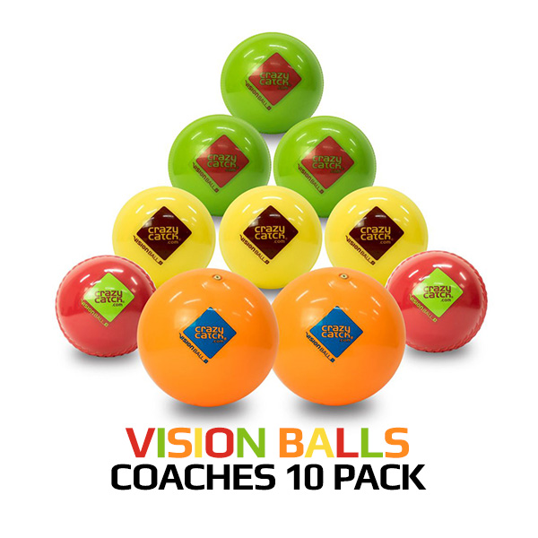 Vision Balls Coaches 10 pack