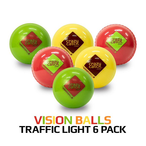 Vision Balls Traffic Light 6 Pack