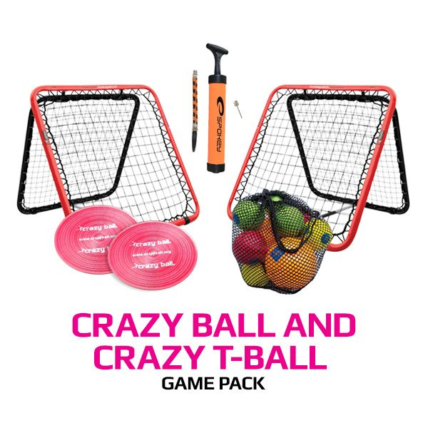 Crazy Ball and Crazy T-Ball Game Pack