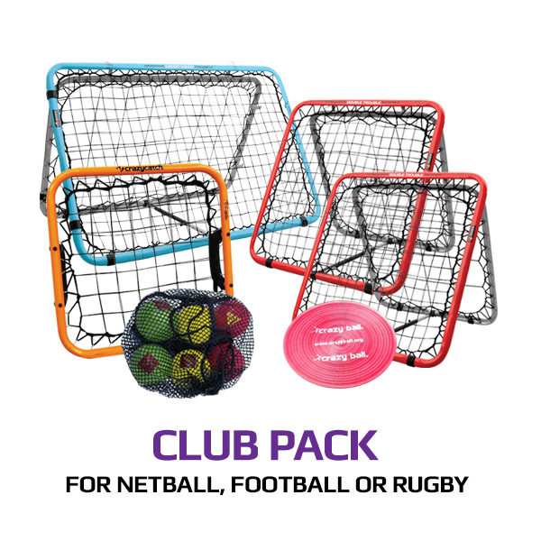 Club pack for Netball, Football or Rugby