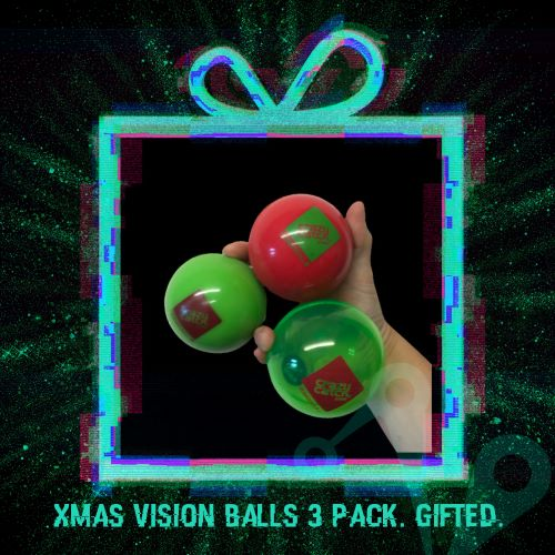 Christmas Vision Balls 3 Pack. Gifted.